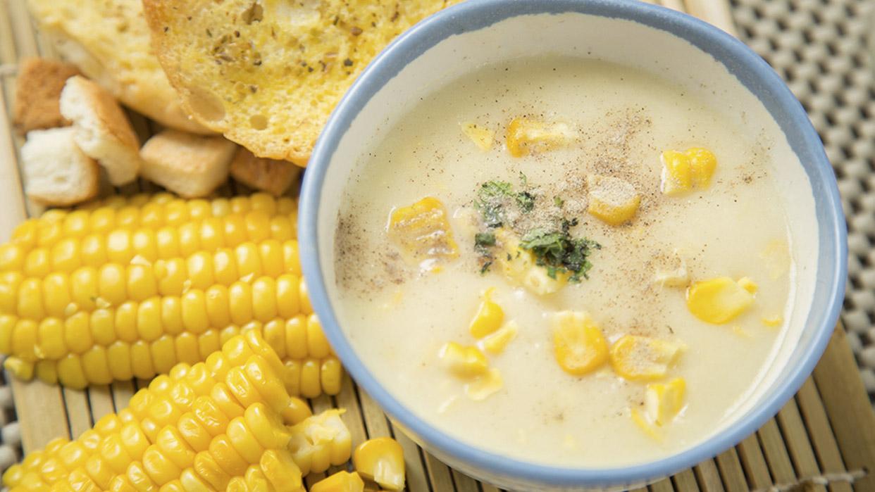 Salsa de maíz para pasta