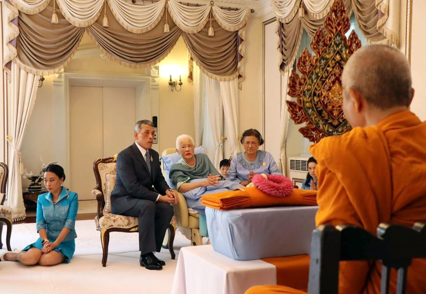 Los 86 años de la reina Sirikit