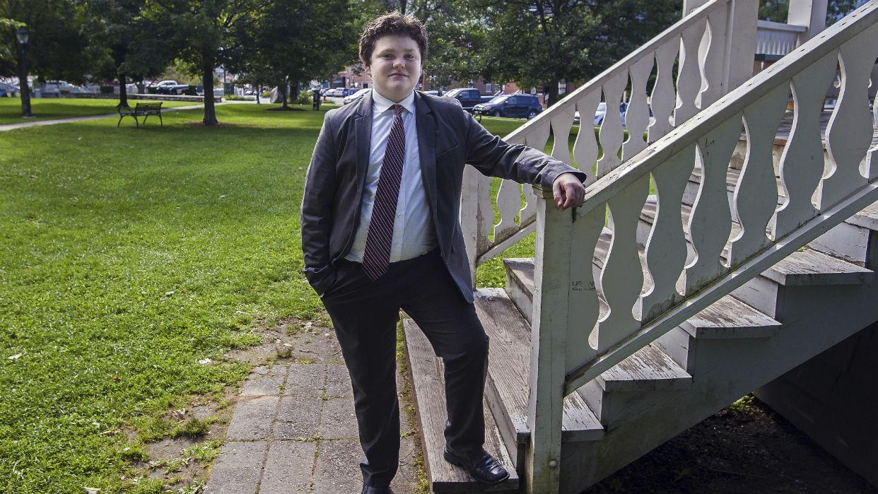 Un estudiante de 14 años se postula para gobernador en Estados Unidos