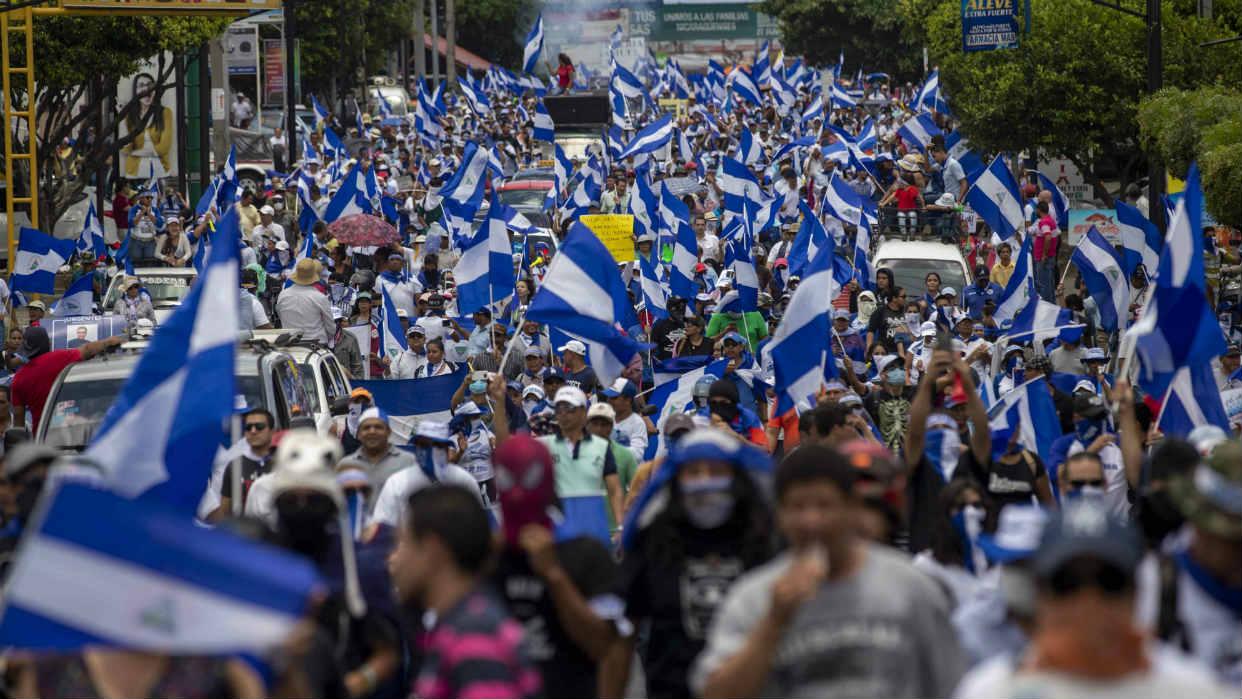 Oposición envía carta a Ortega para reanudar diálogo en Nicaragua