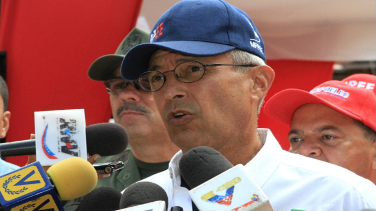 Motta Domínguez: Servicio eléctrico en sectores afectados de Caracas será restablecido este viernes