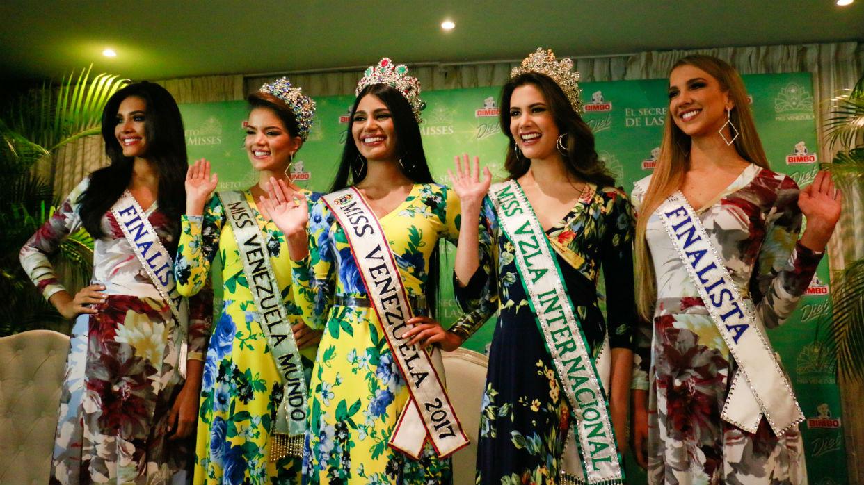 Suspendieron Miss Venezuela 2018 por orden de tribunal