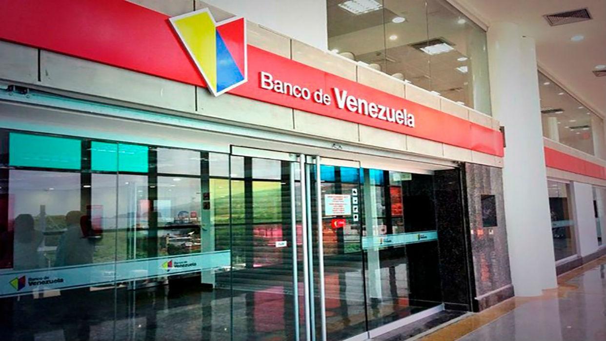 El Banco de Venezuela informó que presenta fallas en su plataforma a nivel nacional