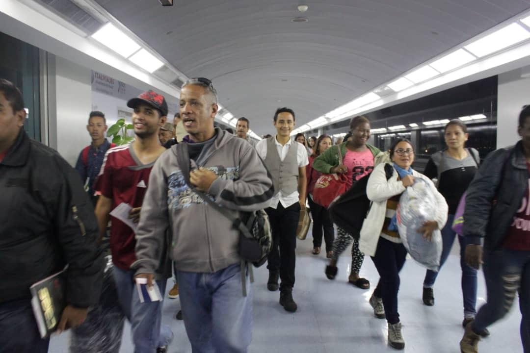 Cancillería: 9.458 venezolanos han sido repatriados a través del plan Vuelta a la patria