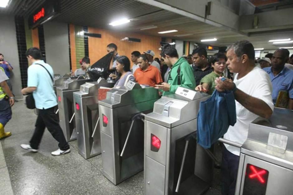 Metro de Caracas empezará a cobrar boleto a Bs 40 desde el 22 de junio