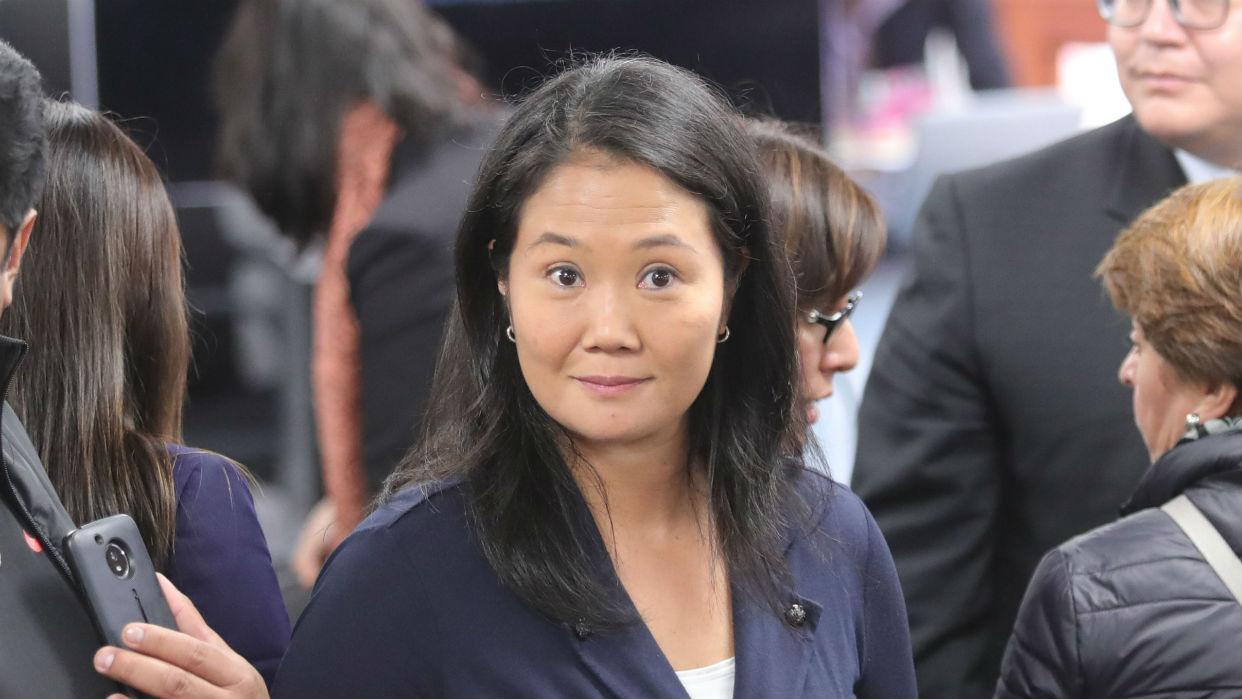Keiko Fujimori: llevo más de un mes esperando que