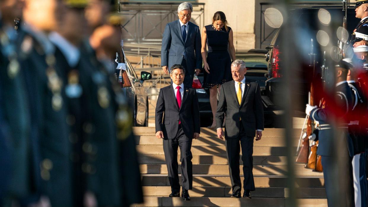 Resultado de imagen para Estados Unidos y Corea del Sur renuevan compromiso militar