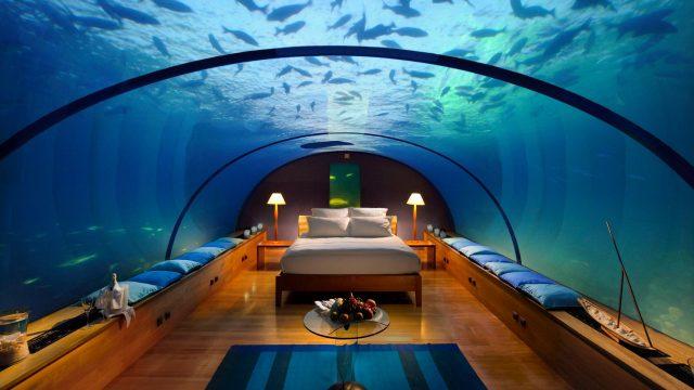 Hotel submarino en Malvidas