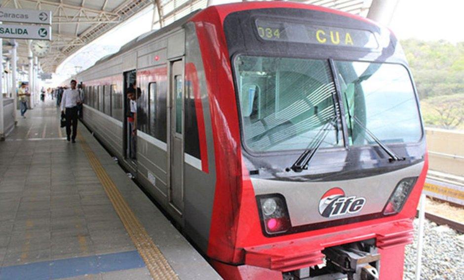 Usuarios exigen mejoras en  el ferrocarril Caracas-Cúa