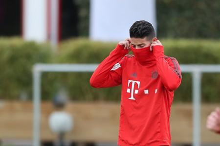 James Rodríguez sufre esguince en rodilla izquierda