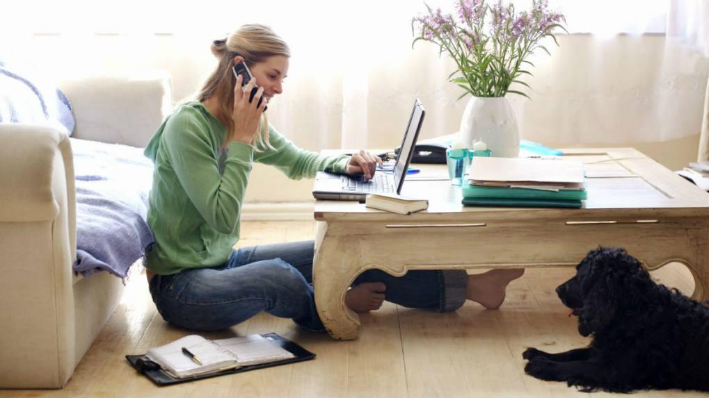 Los riesgos de trabajar desde casa