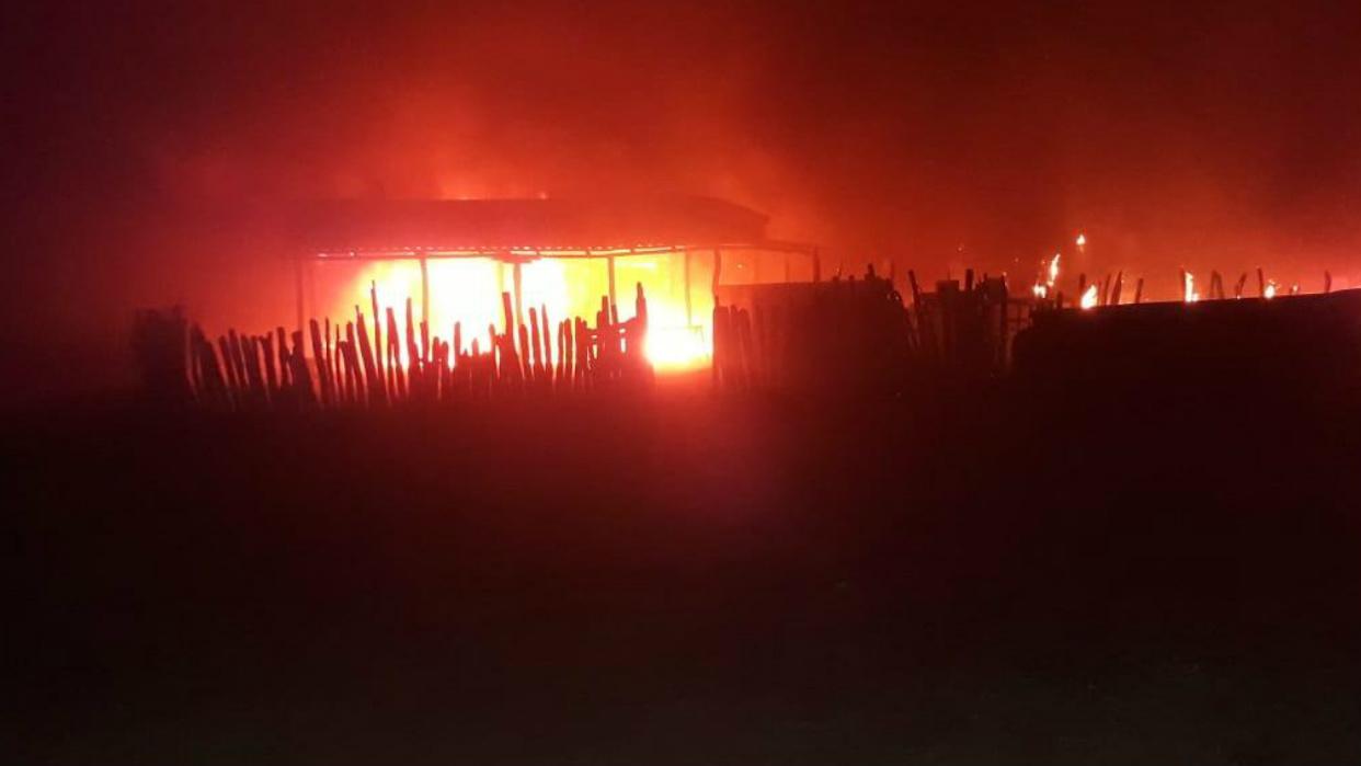 Afirman que operativo militar en Maicao dejó quema de camiones de combustible y heridos