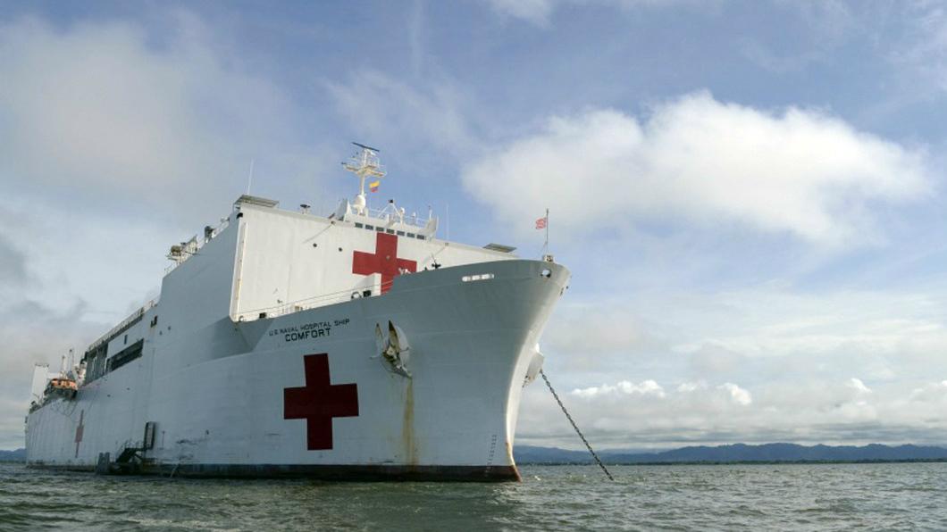 Médicos venezolanos participan en la misión del buque