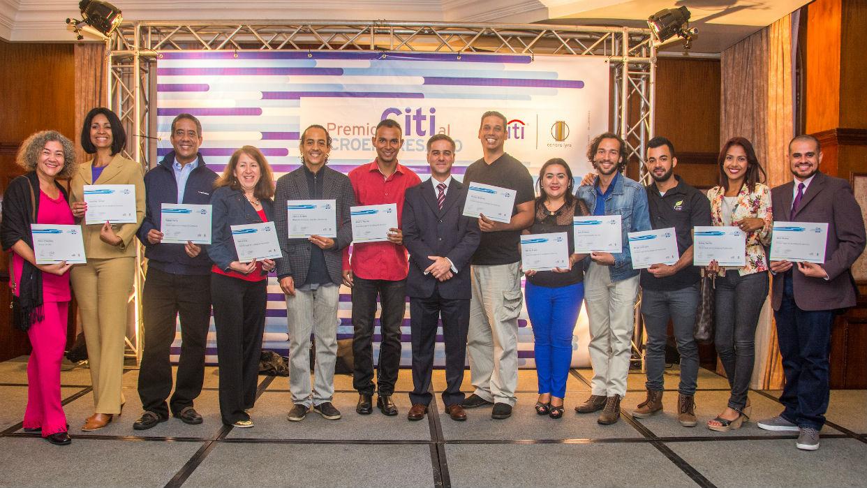 Citi Venezuela premió la creatividad al microempresario