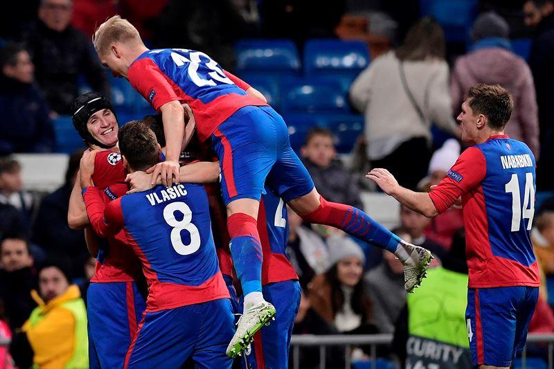 CSKA golea al Real Madrid en el Bernabeu
