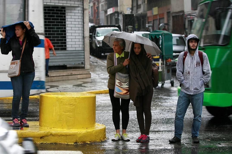 Inameh prevé lluvias y nubosidad en gran parte del país este jueves