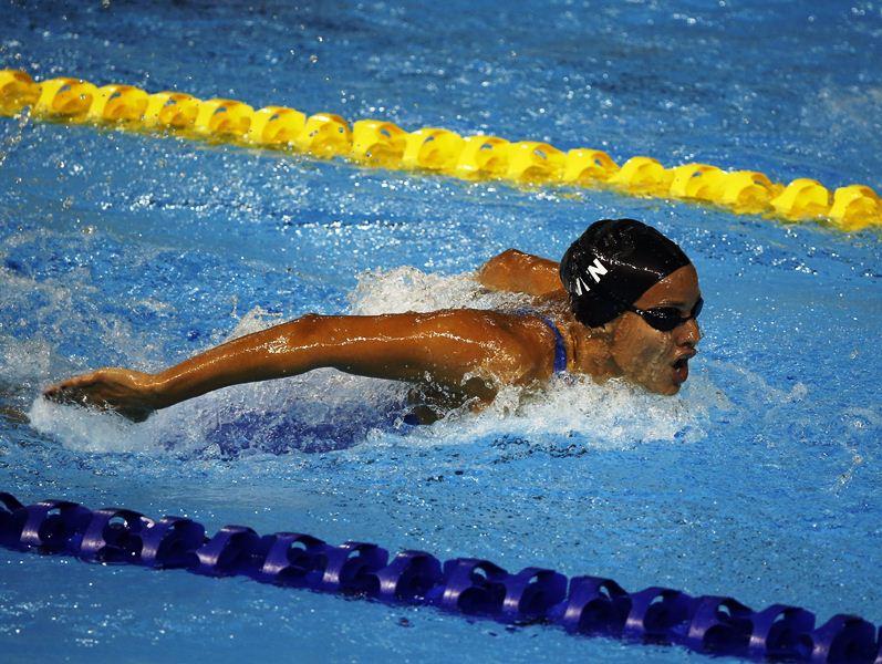 Isabella Páez quedó en el puesto 15 en 200 metros mariposa en el Mundial de China