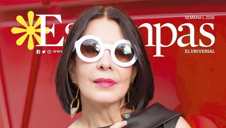 La periodista e instagrammer, Angela Oraá, llena con su estilo la edición de hoy de Estampas
