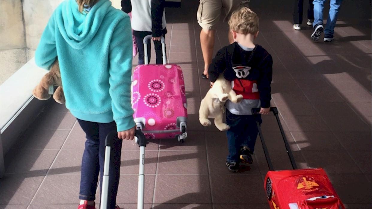 Pequeños inmigrantes y el viaje de las emociones