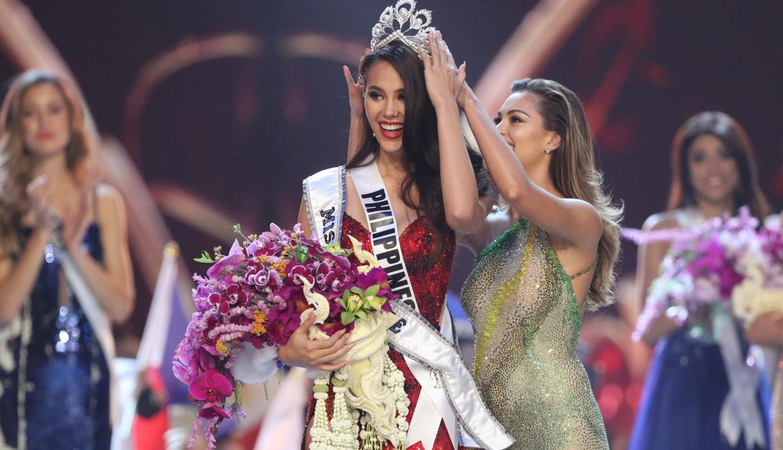 Representante de Filipinas se alzó con la corona del Miss Universo 2018