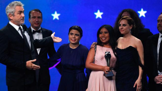 """""""Roma"""" arrasa en los Critics' Choice Awards con cuatro premios"""