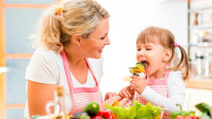 Incluir las frutas y vegetales  a los niños de manera divertida