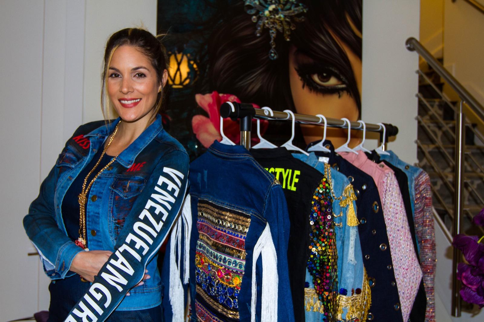 Silvana Santaella brilló en la Semana de la moda de Nueva York