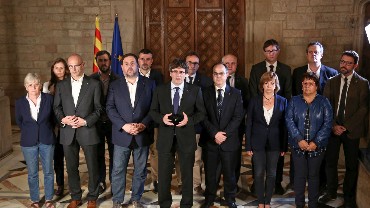 Corte española a prueba con juicio a separatistas catalanes