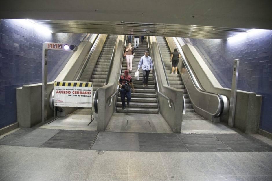 Más del 68% de las escaleras de la Línea 1 del Metro de Caracas están inoperativas