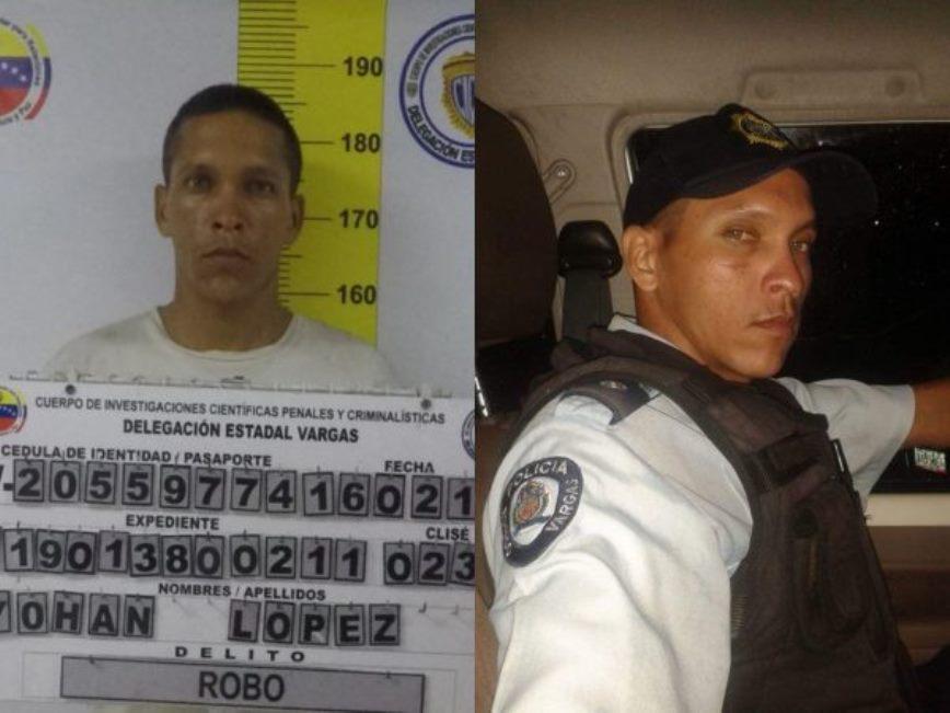 Detienen a un Polivargas por robo de 5.100 dólares y 450 euros