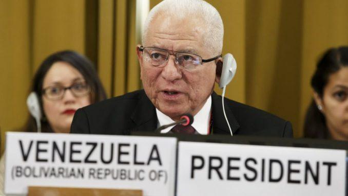 Jorge Valero estima que EEUU pagó por informe de la ONU para dañar relaciones internacionales de Venezuela