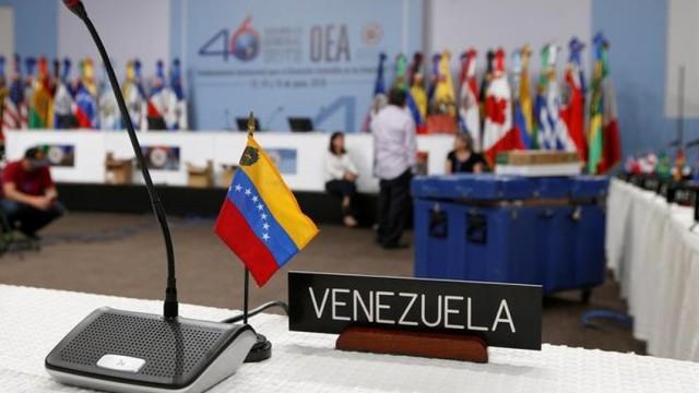 Crisis venezolana será abordada en la 49°Asamblea General de la OEA
