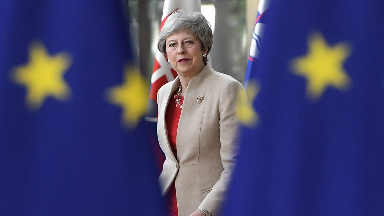 Los cinco errores de Theresa May