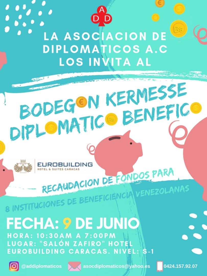 Bazar de la Asociación de Diplomáticos el 9 de junio de 2019