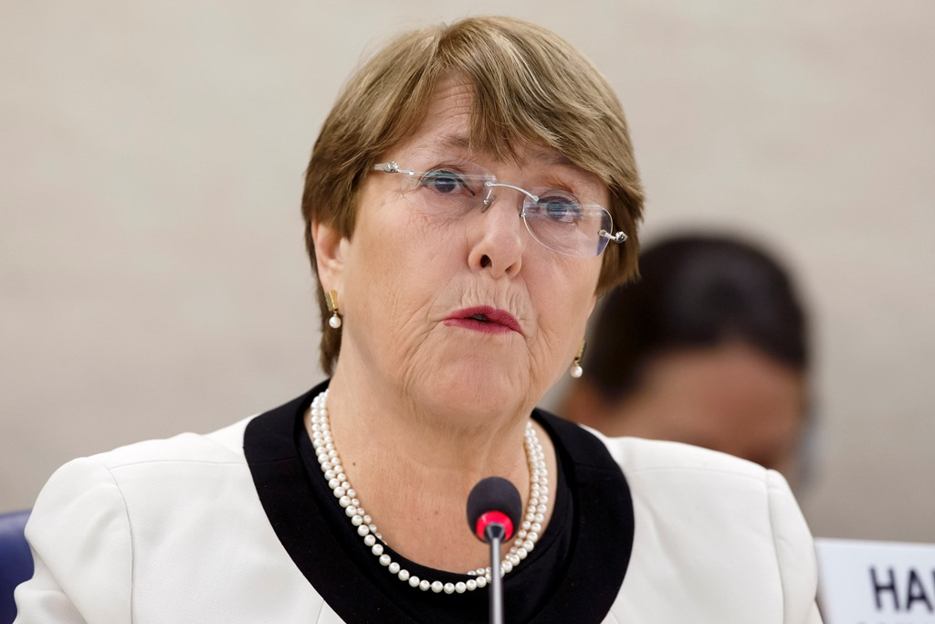 Michelle Bachelet ya se encuentra en Venezuela