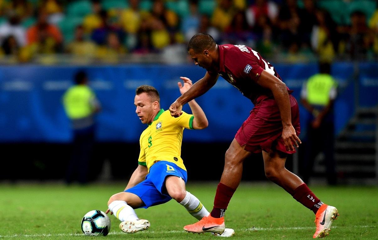 La Vinotinto saca valioso empate sin goles ante Brasil