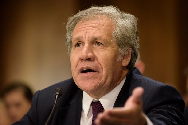 Almagro asume segundo periodo en OEA con promesa de lucha contra Covid-19 y