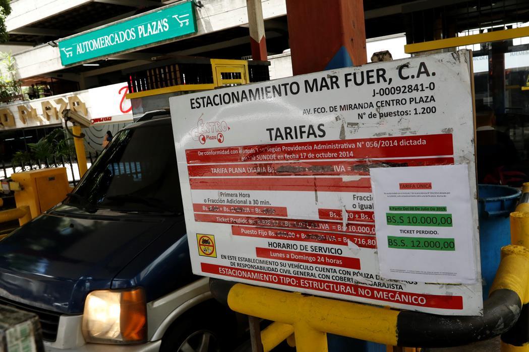 Estacionamientos de la ciudad ajustan nuevamente sus tarifas