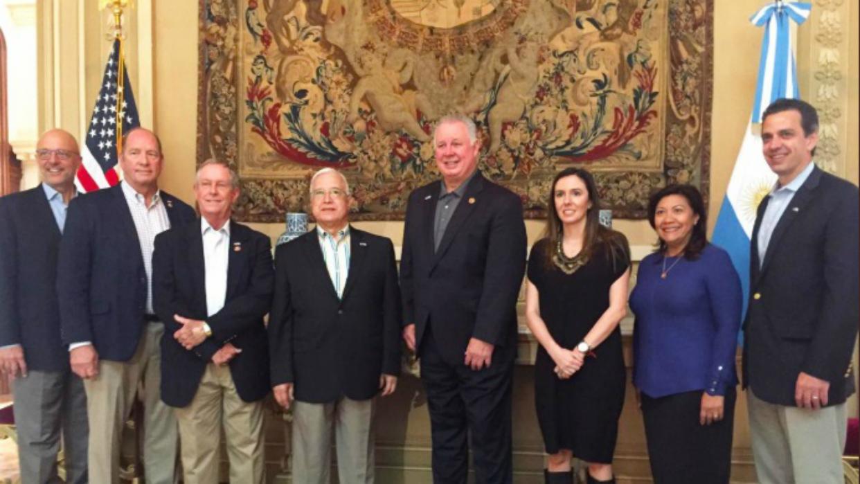 Resultado de imagen para Embajadora de Venezuela en Argentina se reunió con congresistas de EE UU