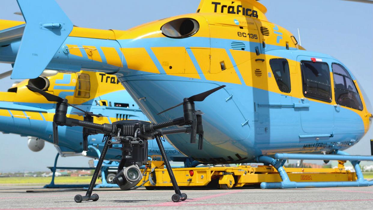 España se equipa de drones para sancionar a los conductores imprudentes