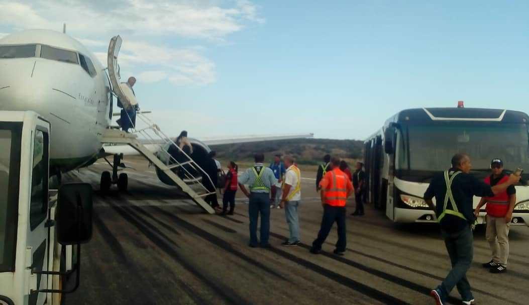 Por tres horas estuvieron suspendidos los aterrizajes en el Aeropuerto de Maiquetía