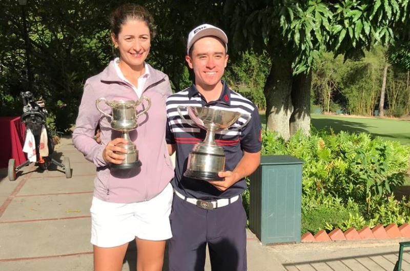 Ignacio Arcaya y Stephanie Gelleni clasifican a la Copa Los Andes