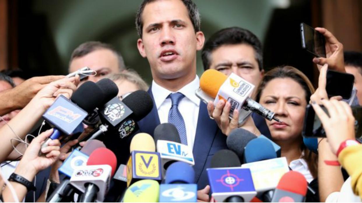 Guaidó confirma que diálogo con el Ejecutivo