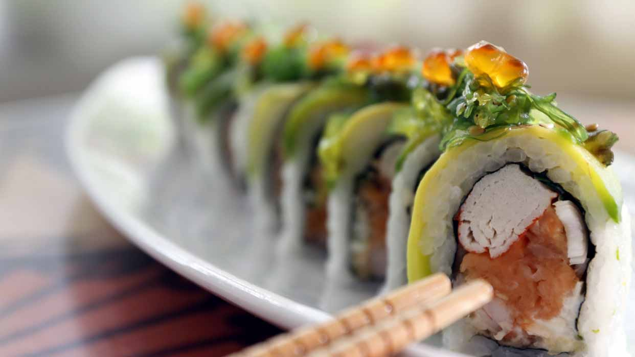 La comida japonesa sigue en tendencia