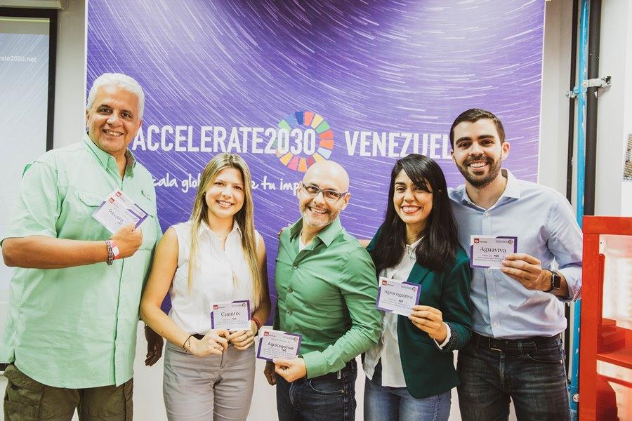 Cuatro emprendimientos nacionales en el programa global Accelerate2030
