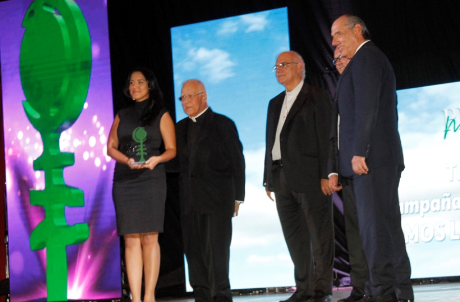 Premio Monseñor Pellín a Venevisión