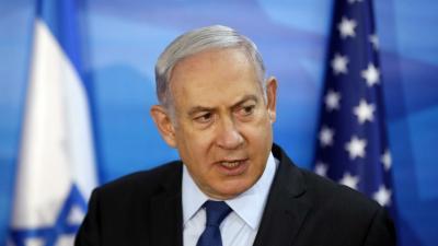 El estadista político Netanyahu