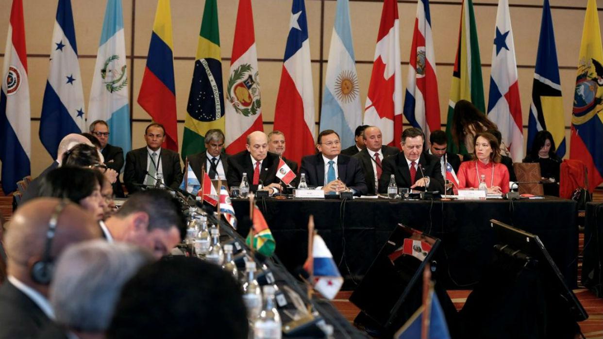 Grupo de Lima apoya plan de EEUU de gobierno de transición en Venezuela