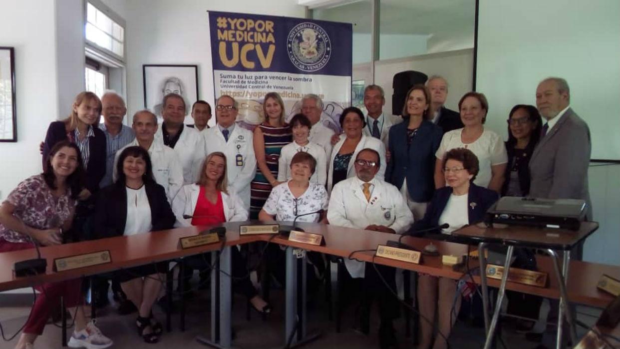 Con iniciativa #YOPORMEDICINAUCV buscan apoyo para la Facultad de Medicina de la UCV