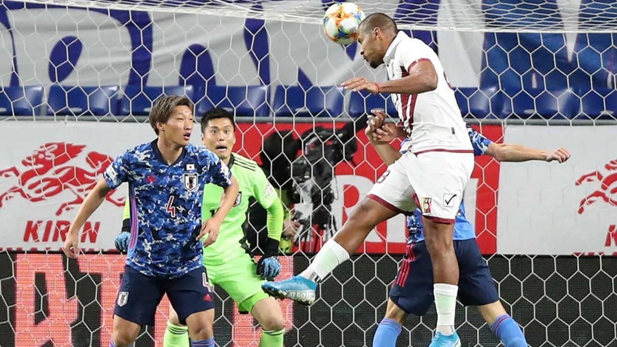 Venezuela goleó 4-1 a Japón en su último amistoso del año